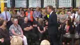 Prime Minister David Cameron Asked Question About Jesus