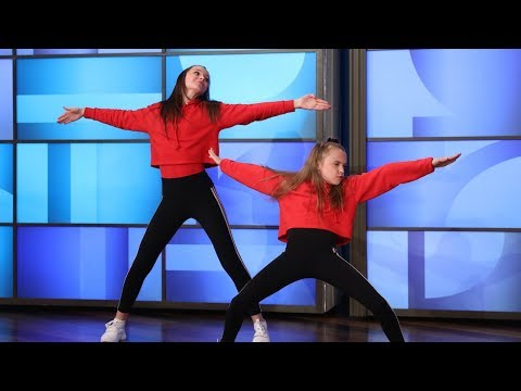 Young Dancers Taylor and Reese Hatala...