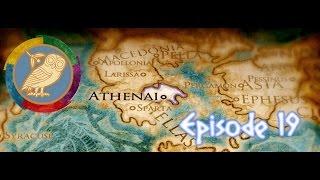 ROME II TOTAL WAR [S.1][SOLO][ATHÈNES] ~ EPISODE 19 ~ La fin de la Lybie...