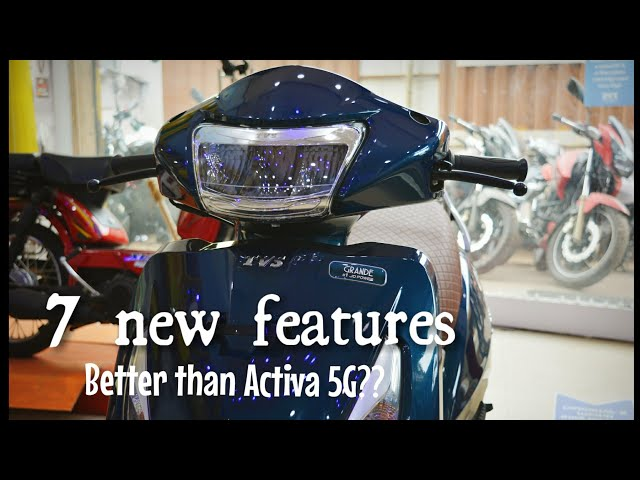 New Tvs Jupiter Grande With All New Features Full Review Better