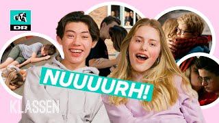 Reagerer på første kys: Sødeste øjeblikke i Klassen | Ultra