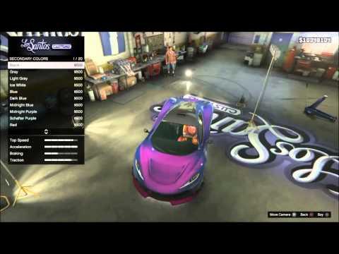 GTA 5 - Top 5 Paint Job For Progen T20 (GTA 5)
