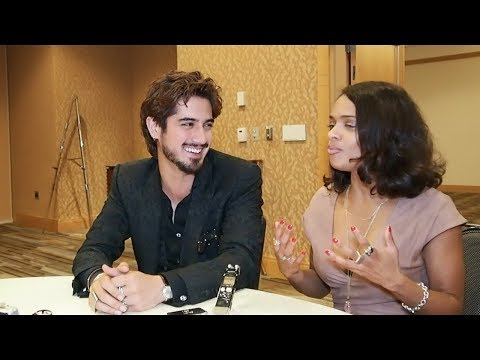 """AVAN JOGIA & KANDYSE MCCLURE TALK """"GHOST WARS"""" AT SDCC 2017 (INTERVIEW)   MUSELED"""