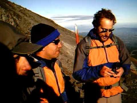 climbing Villarrica Chile