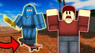 GETTING WINS BY SKATING ON ARSENAL?! (ROBLOX)
