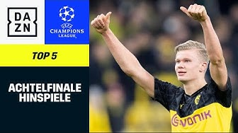 Top 5 Tore Achtelfinal-Hinspiele | UEFA Champions League | DAZN Highlights