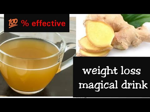 Magical Ginger Water For Weight loss 100%effective hindi