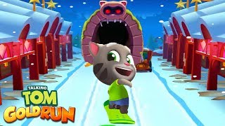 Talking Tom Gold Run ipad Gameplay - Talking Tom vs Raccoon Robber