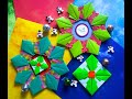 Origami Maniacs 407: English Holly Ornament and Wreath