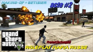 GTA V Online | Assassinat | Roleplay Mafia Russe [Acte 2] Making-of +Bêtisier