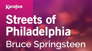 Karaoke Streets Of Philadelphia - Bruce Springsteen *