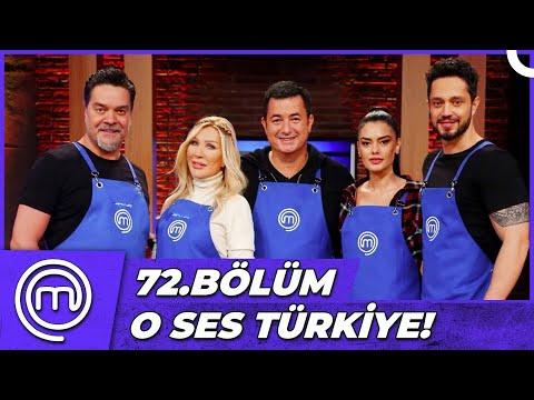 MasterChef Türkiye 72.Bölüm Özet | O SES TÜRKİYE X MASTERCHEF!