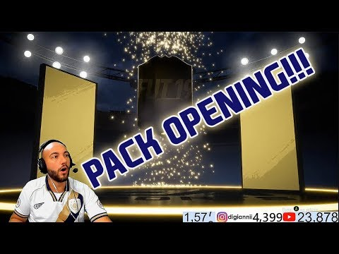 🔴 FIFA 19 🔴 PACK OPENING DIVISION RIVALS + 38 MILA FIFA POINTS!!! 💸Di Gianni💸