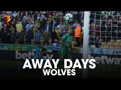 AWAY DAYS | TWO GOALS IN 58 SECONDS! 😱 | WOLVES WIN!
