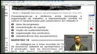 Correção ENEM 2014 - Geografia