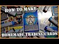 How to Make Homemade Trading Cards