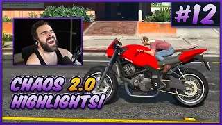 The BEST of GTA V Chaos 2.0! (Chat Randomly Mods The Game) - #12