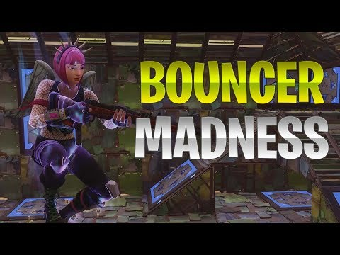 NEW BOUNCER GAMEMODE! - Fortnite: Battle Royale Playground LTM Mode