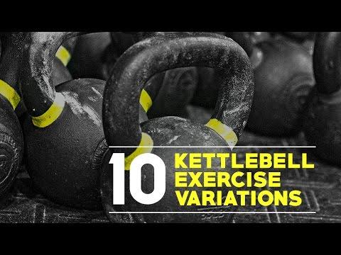 10 Kettlebell Exercise Variations