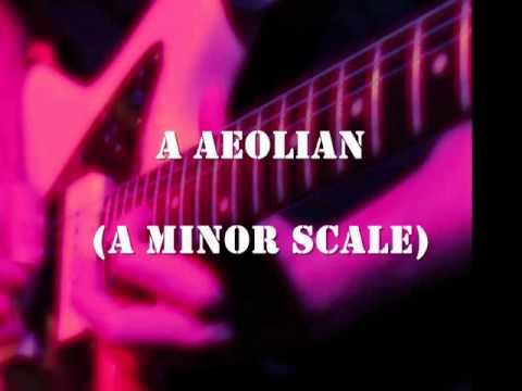 A Minor Scale Aeolian Mode Backing Track
