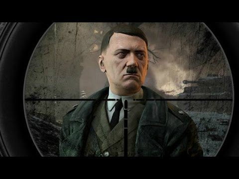 Sniper Elite 3 - All Death Scenes On Hitler