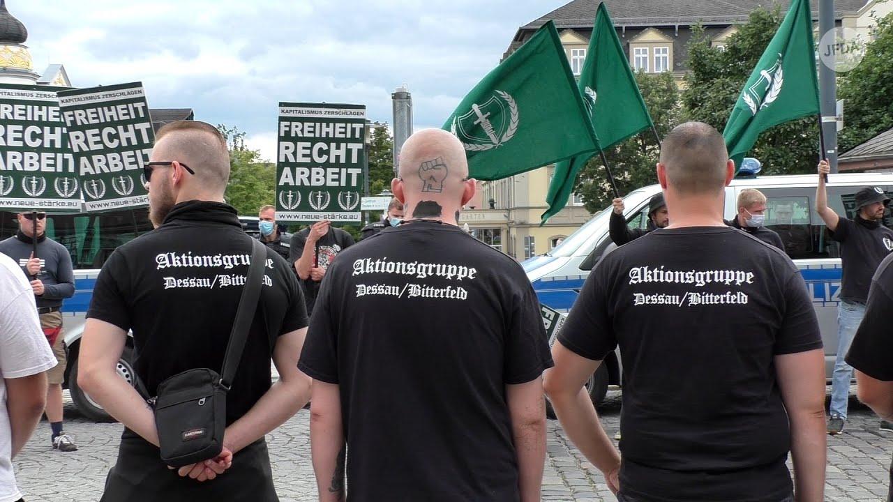 """Neonazi-Aufmarsch in Weimar am 7. August 2021 – Völkische Ideologie statt """"Frieden und Freiheit"""""""
