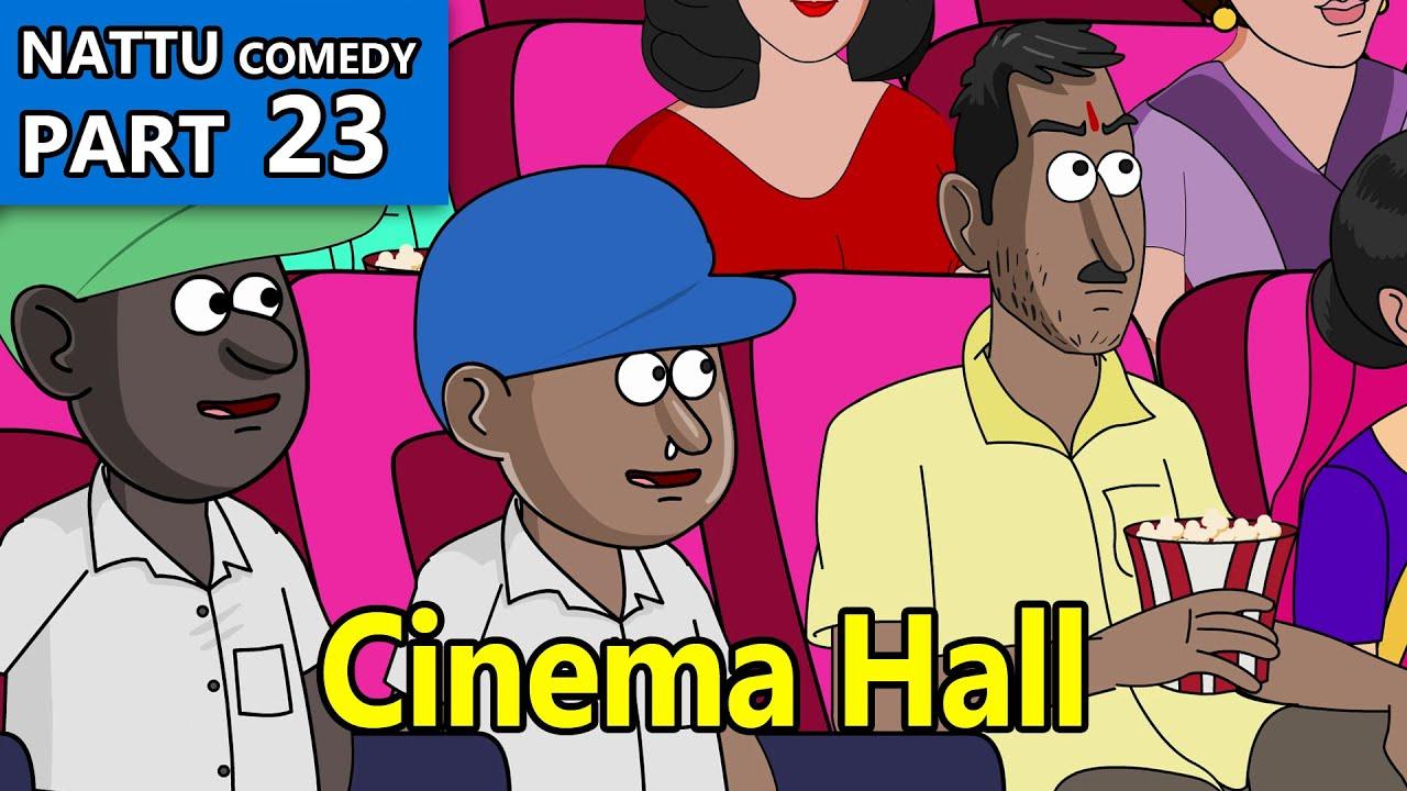 Nattu Comedy part 23    Cinema hall
