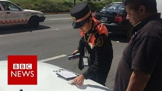 Mexican policewomen battling corruption   BBC News