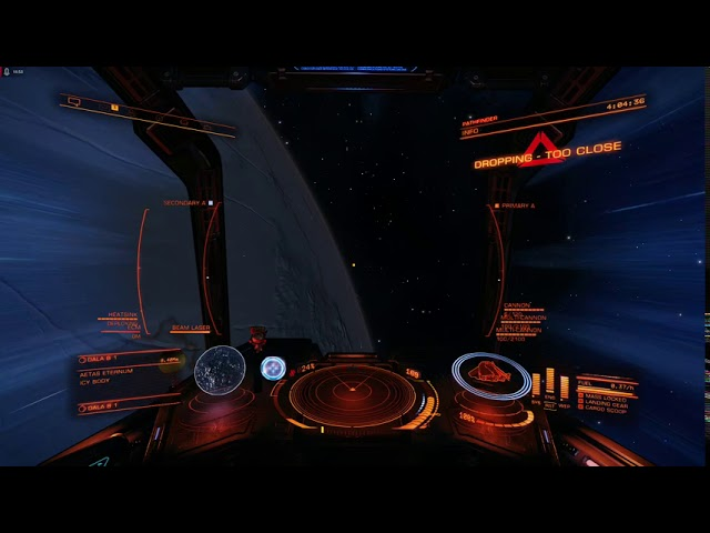 Gaming Video: Sash and the hunt for the Thetis Signal (Elite: Dangerous).