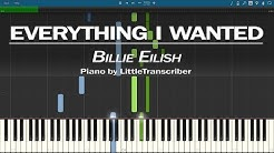 Billie Eilish - everything i wanted (Piano Cover) Synthesia Tutorial by LittleTranscriber