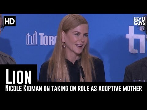 Nicole Kidman on taking the role as an adoptive mother - Lion Press Conference (TIFF 2016)