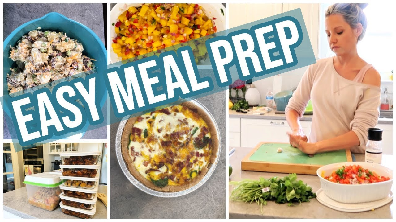Cook With Me Easy Meal Prep Sundays At Tiffanis Episode 2