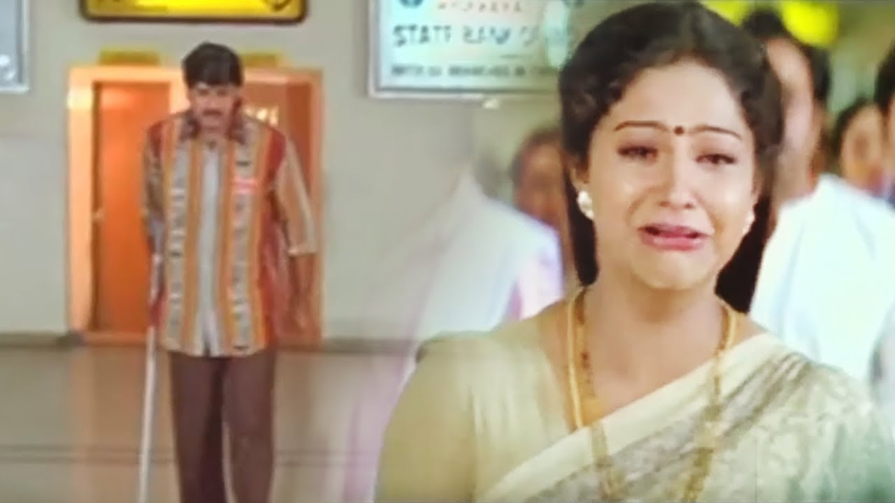 Download Srikanth And Raasi Emotional Climax Scene   Telugu Movie Scenes   Silver Screen Movies
