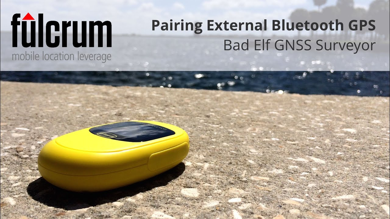 Pairing a Bluetooth GPS on Android: Bad Elf GNSS Surveyor