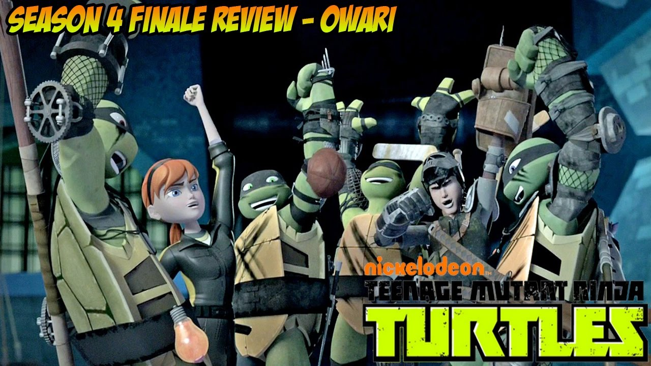 O G Turtle Documentary TMNT Season 4 Finale R...