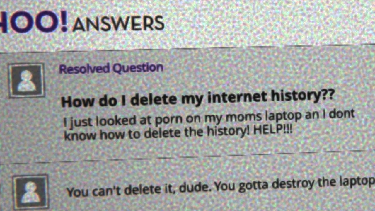 """Download """"How do I delete my Internet History??"""""""