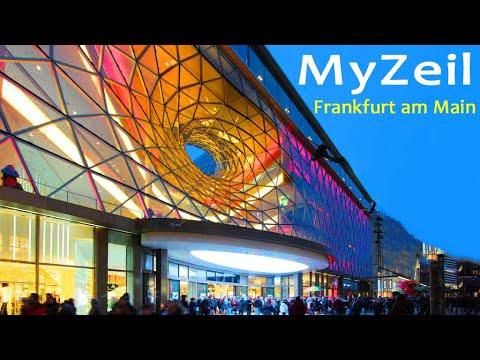 Frankfurt Main , Shopping center MyZeil (HD), Einkaufszentrum MyZeil , PalaisQuartier