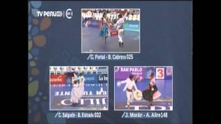 008 marinera en TRUJILLO 2015 01 23 semifinal infantes EL ROCIO DE LA PAVA