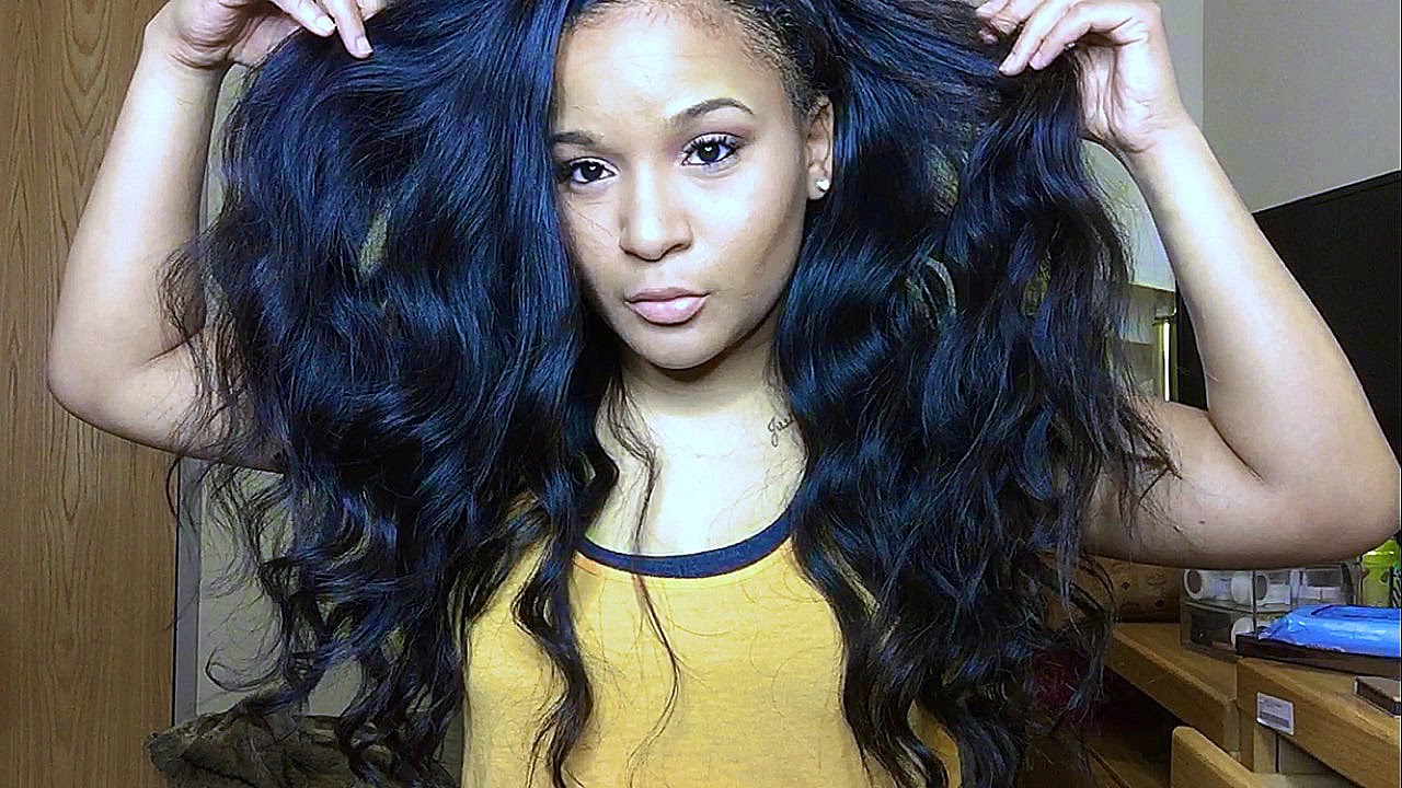 How To Curl Your Weave : Big O Bundles& Mocha Hair