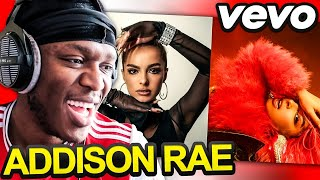 Sidemen React to Addison Rae - Obsessed