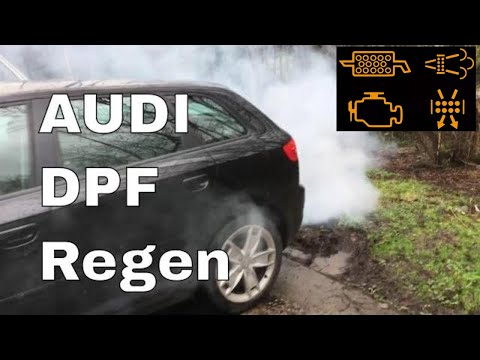 Audi A3 TDi getting a DPF Regen regeneration