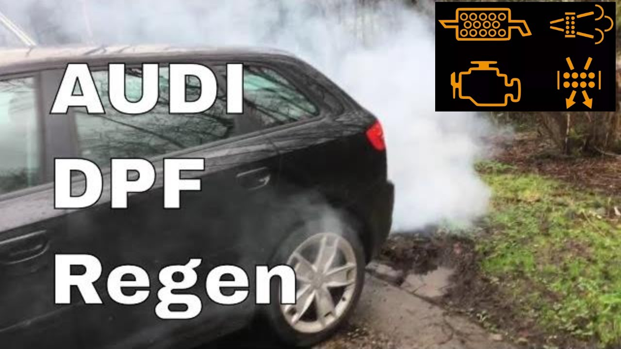 Audi A3 Tdi Getting A Dpf Regen Regeneration Blocked Audi Dpf Regen