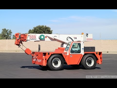Shuttlelift 5550 RT 4WD Carry Deck Crane for Sale