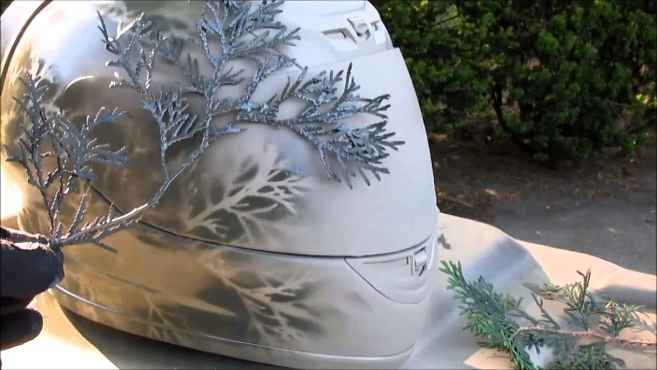How to Camouflage Paint