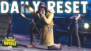 GUMSHOE, SLEUTH & NOIR (Detective Skins) Fortnite Daily Reset & NEW Items in Item Shop