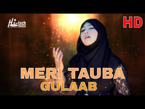 MOST BEAUTIFUL NAAT - MERI TAUBA - GULAAB - OFFICIAL HD VIDEO - HI-TECH ISLAMIC - BEAUTIFUL NAAT
