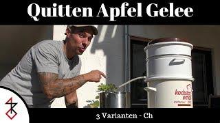 Quitten Apfel Gelee kochen   3 verschidene Varianten   Chili, Ingwer, Vanille.....