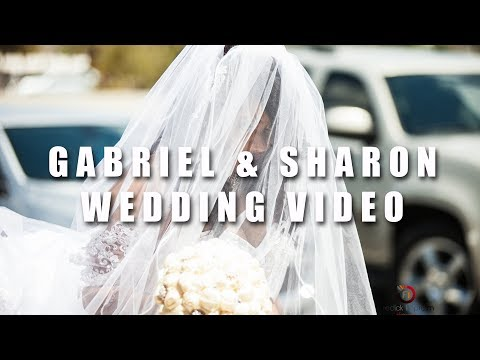 Gabriel and Sharon Wedding in Tucson Arizona