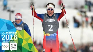 Cross-Country Sprint - Thomas Helland Larsen (NOR) wins gold | Lillehammer 2016 Youth Olympic Games