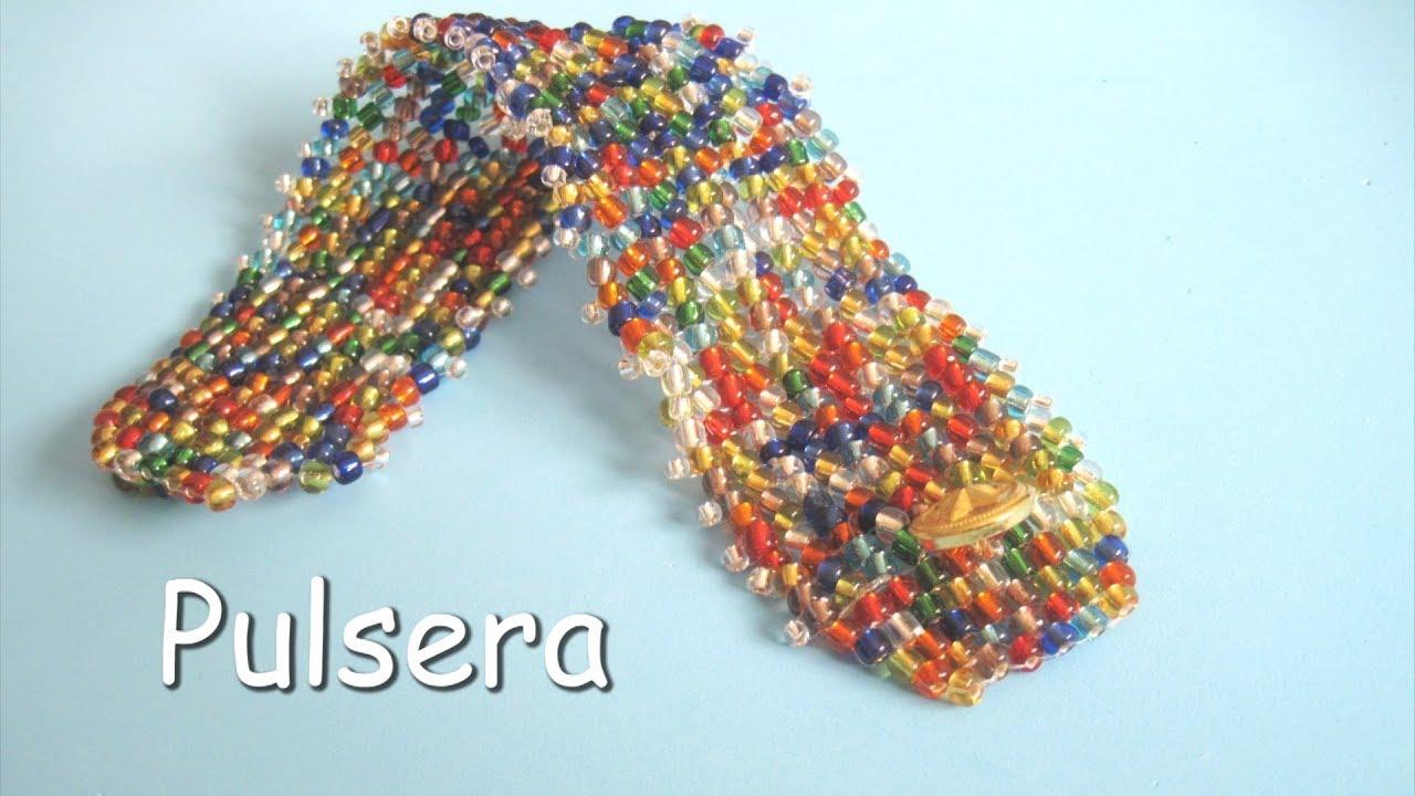 f81806d3cfab DIY - Pulsera de mostacillas multicolori DIY - Multicolour beads bracelet